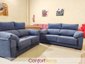 conjunto de sofá tres más dos plazas en oferta en Granada