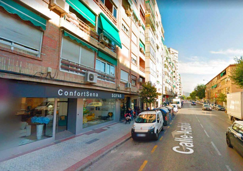 ConfortSena Sofás en Granada en calle Arabial en Granada