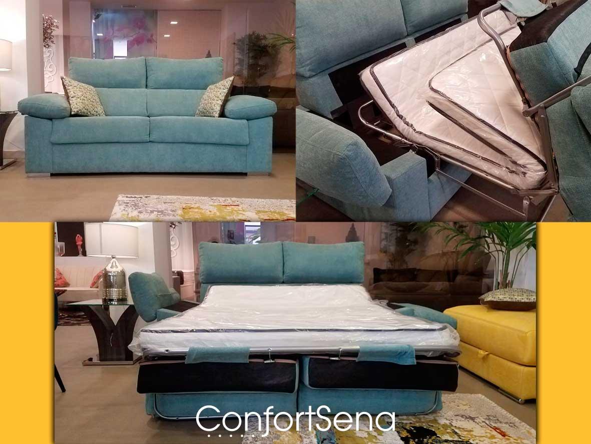 sofá cama en Granada de la mejor calidad mejor precio y hecho a medida