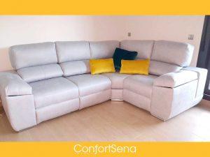 sofá rinconera en Granada de la mejor calidad mejor precio y hecho a medida