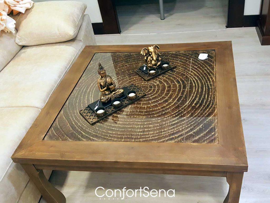 mesa de madera en Granada en tienda Confortsena