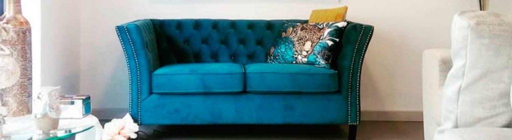 sofá azul en Granada mejor precio y calidad